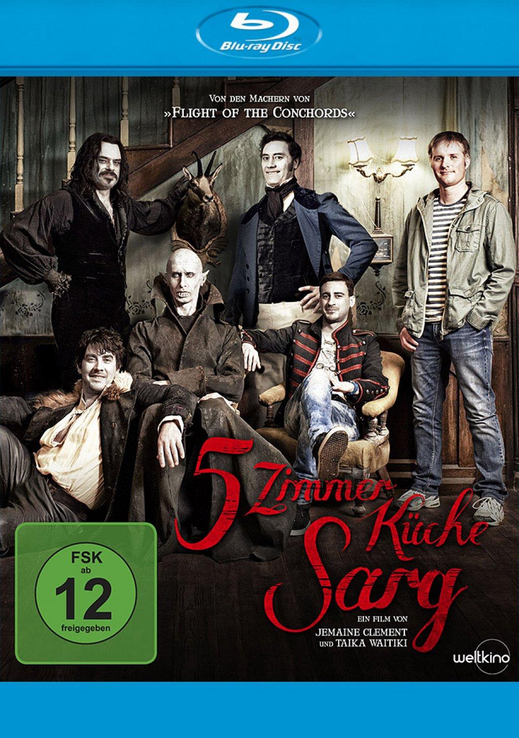 5 Zimmer Küche Sarg (Blu-ray)