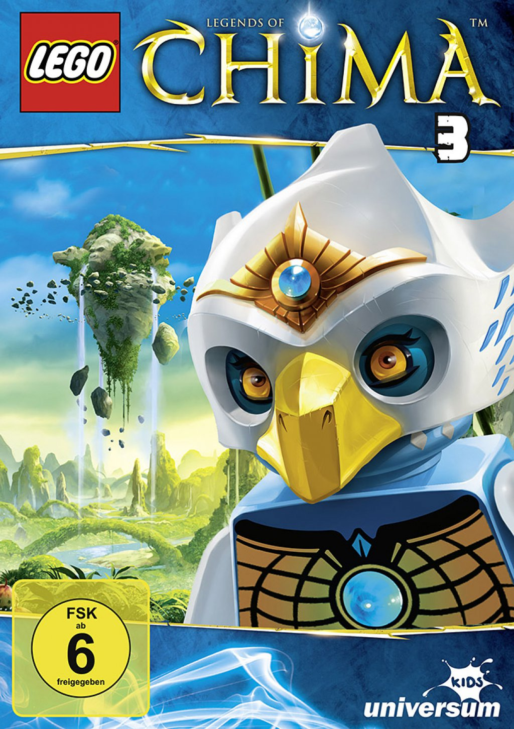 LEGO - Legends of Chima - DVD 3 (DVD)