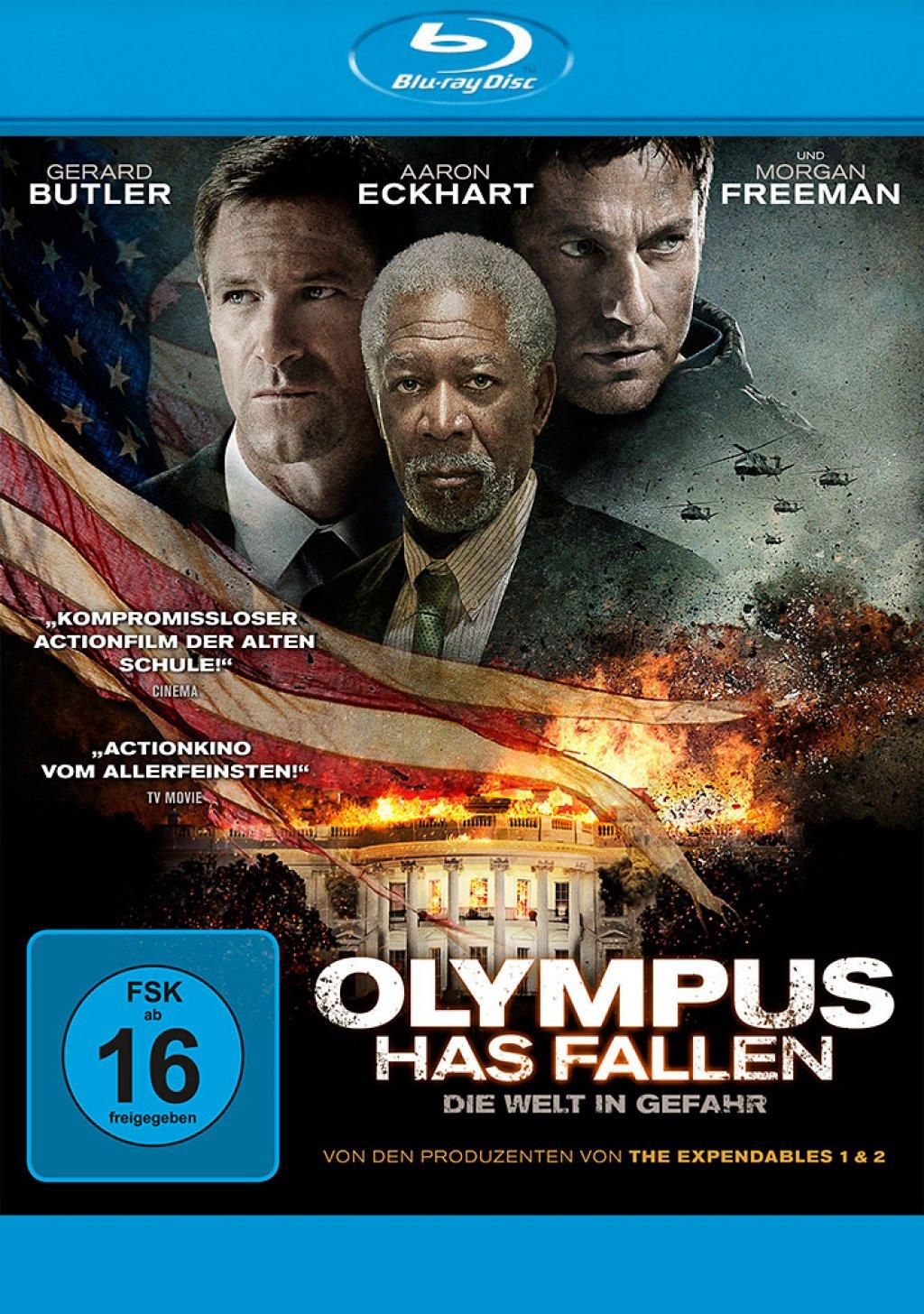 Olympus Has Fallen - Die Welt in Gefahr (Blu-ray)