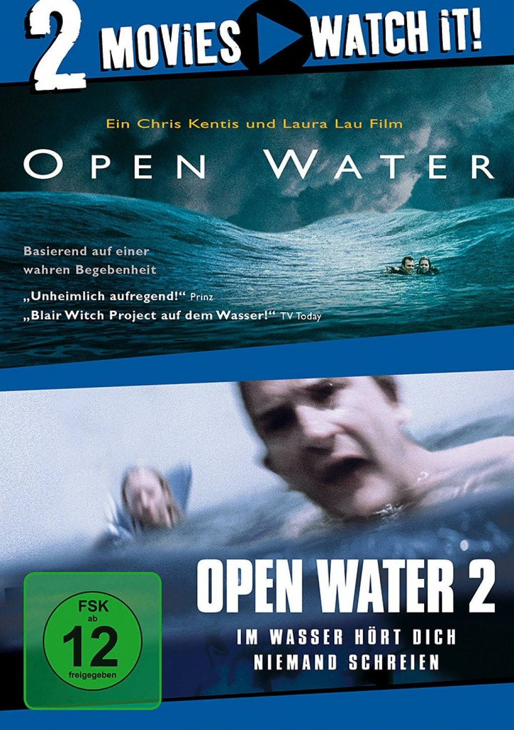 Open Water 1 & 2 - 2 Movies (DVD)