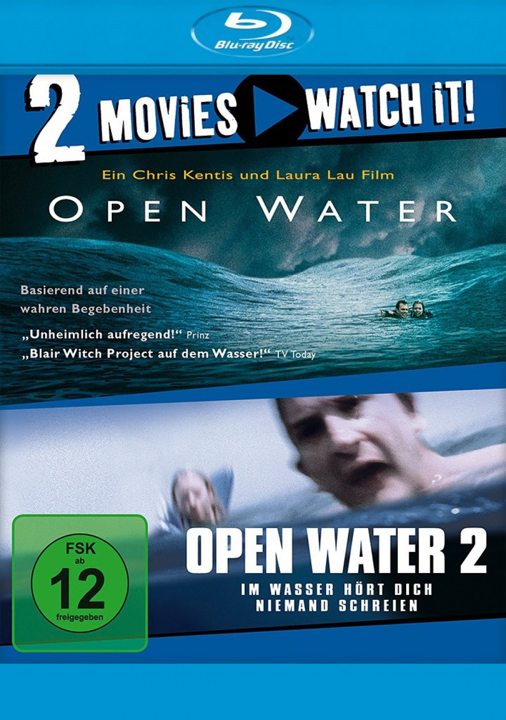 Open Water 1 & 2 - 2 Movies (Blu-ray)