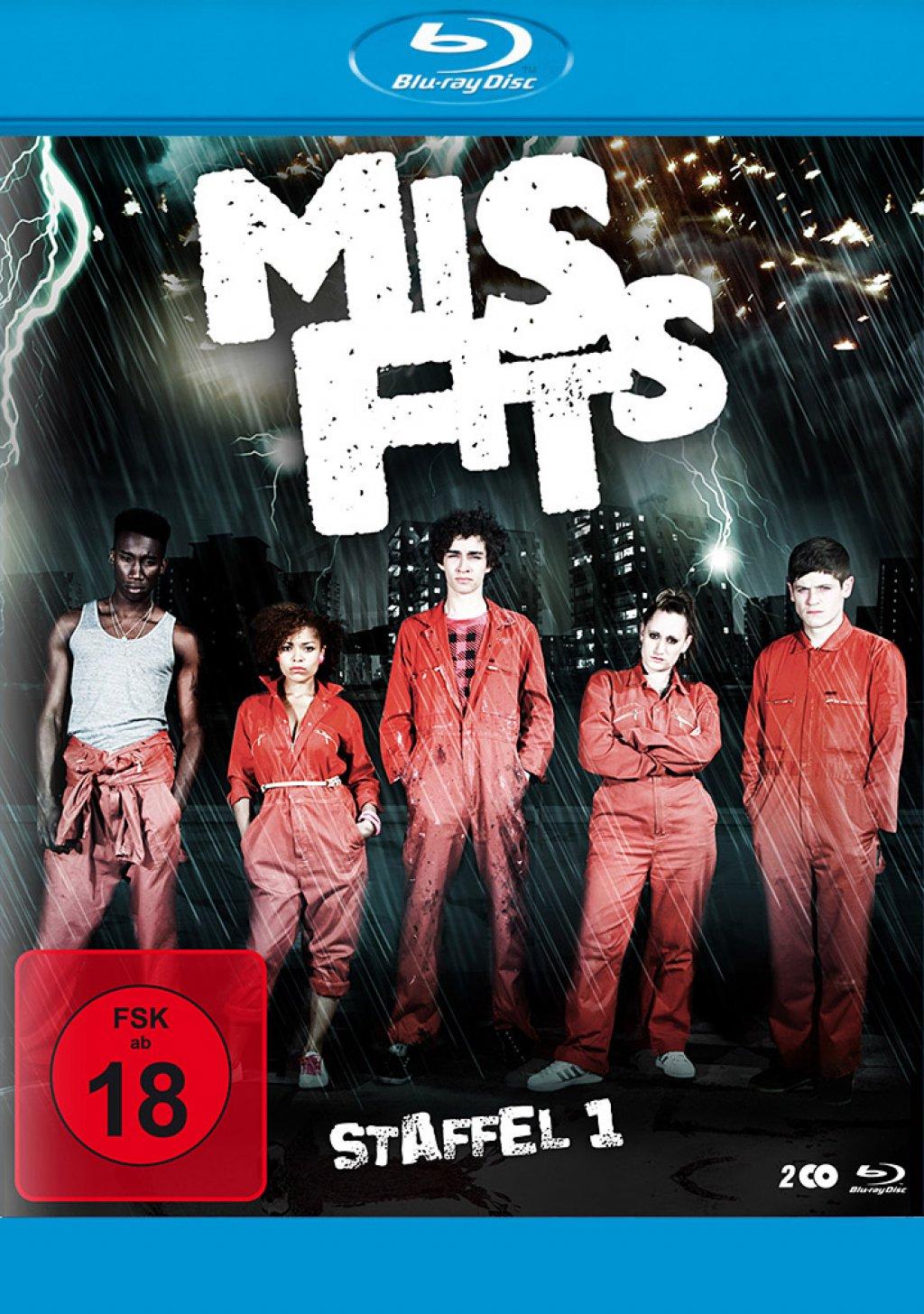 Misfits - Staffel 01 (Blu-ray)
