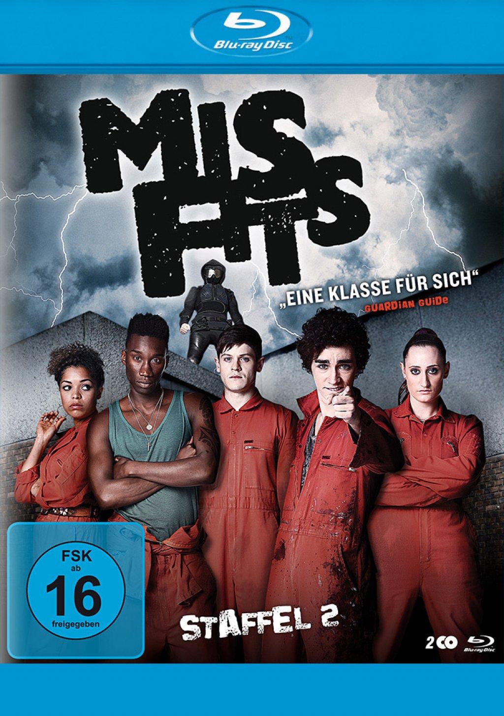 Misfits - Staffel 02 (Blu-ray)