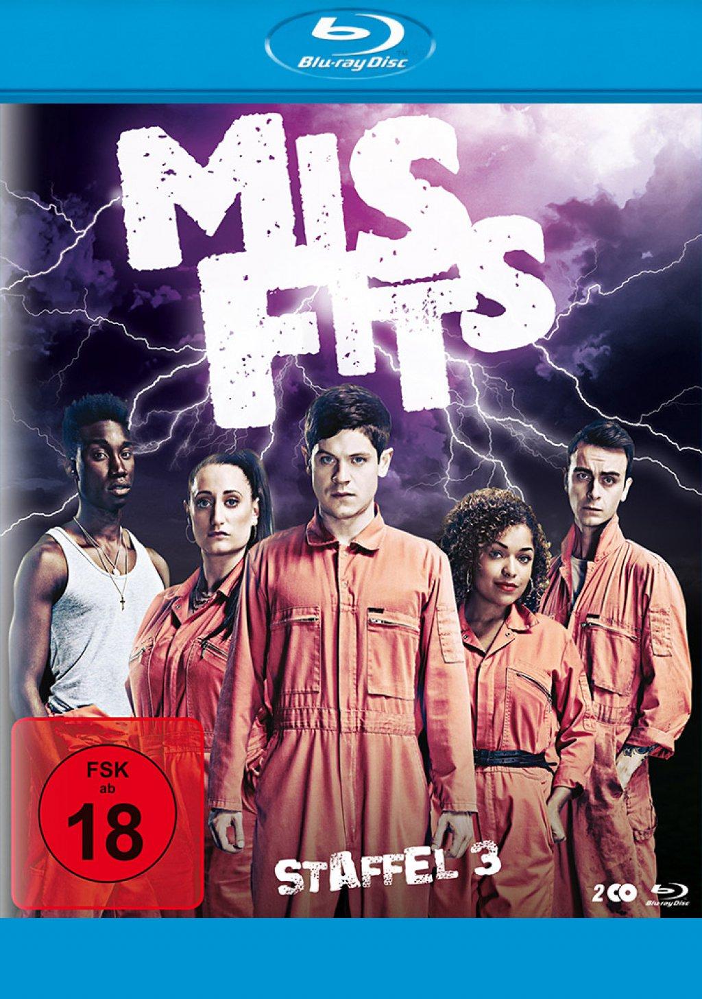 Misfits - Staffel 03 (Blu-ray)