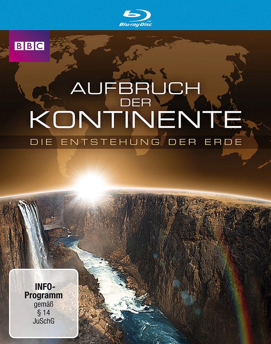 Aufbruch der Kontinente - Die Entstehung der Erde (Blu-ray)