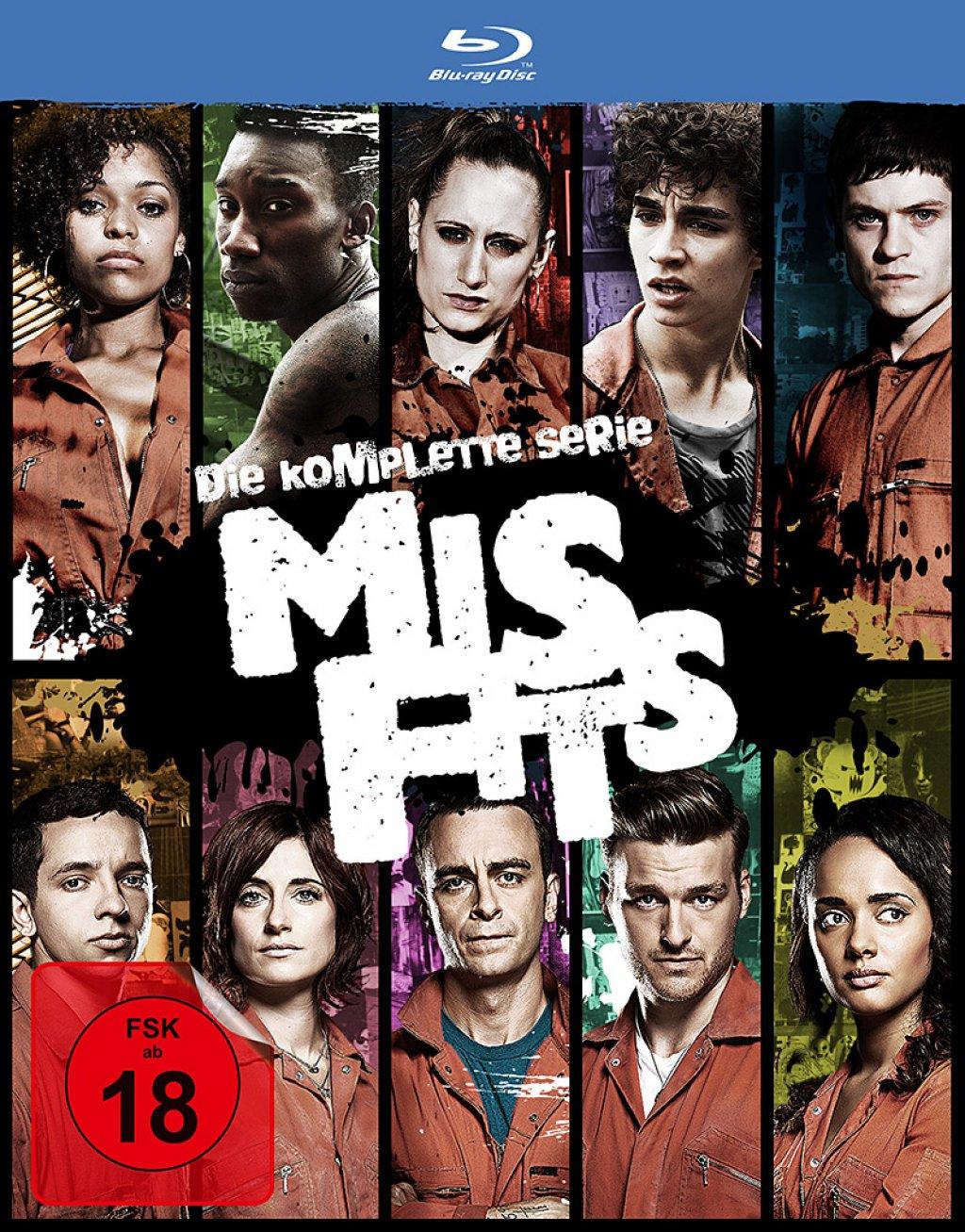 Misfits - Die komplette Serie (Blu-ray)