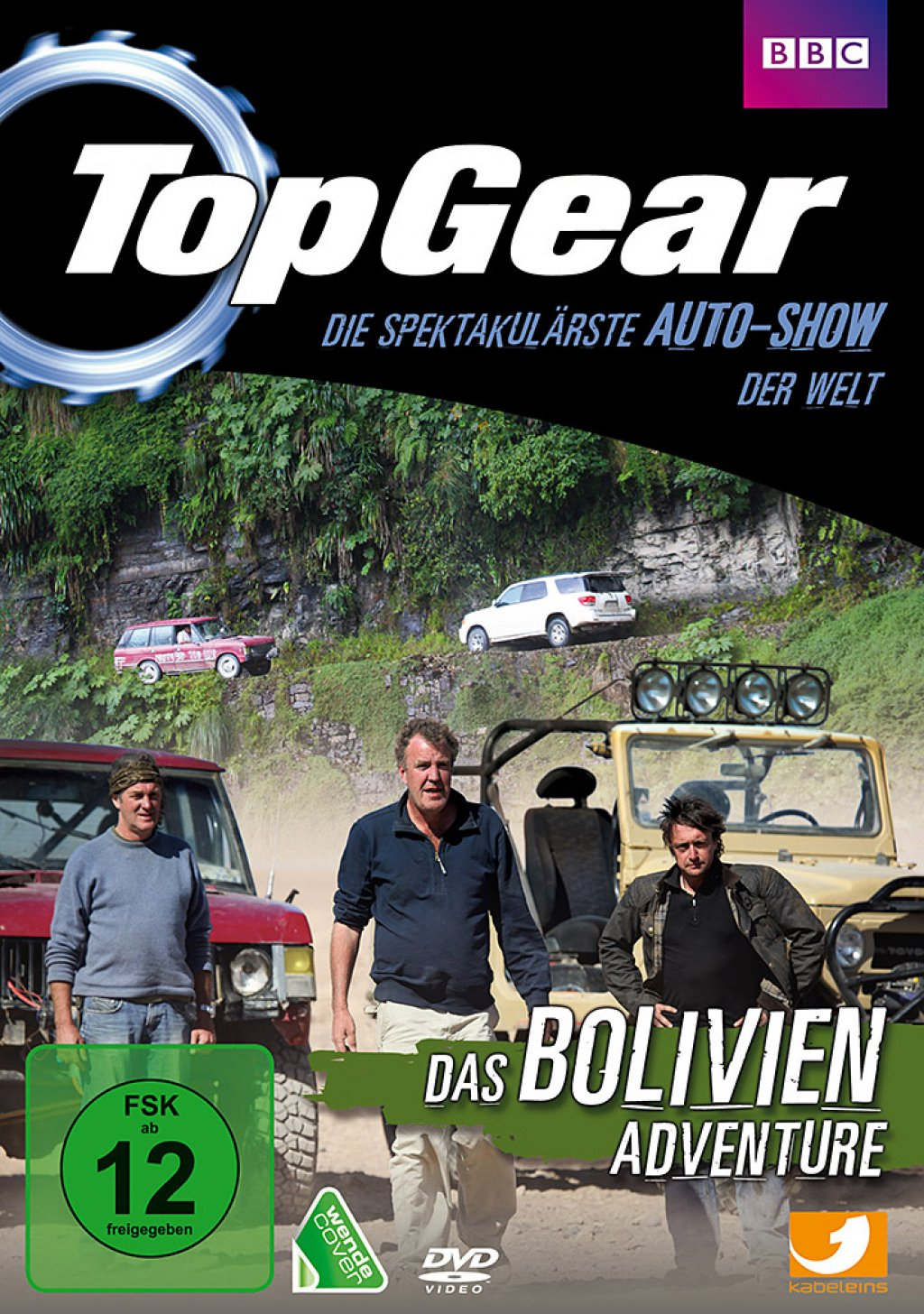 Top Gear - Das Bolivien Adventure (DVD)