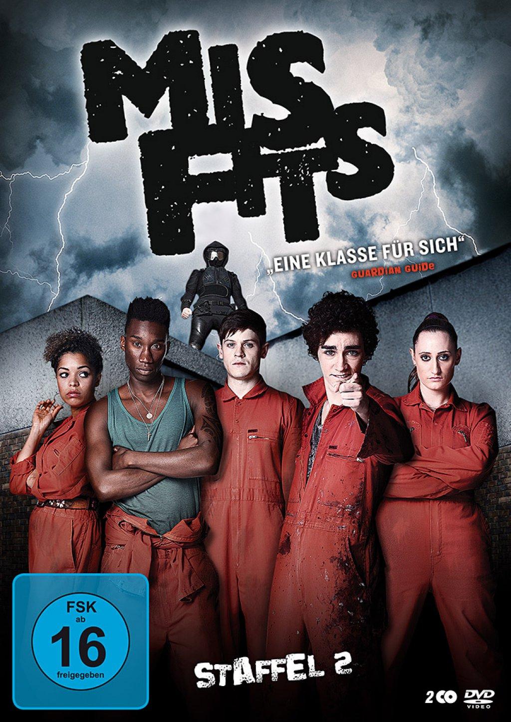Misfits - Staffel 02 (DVD)