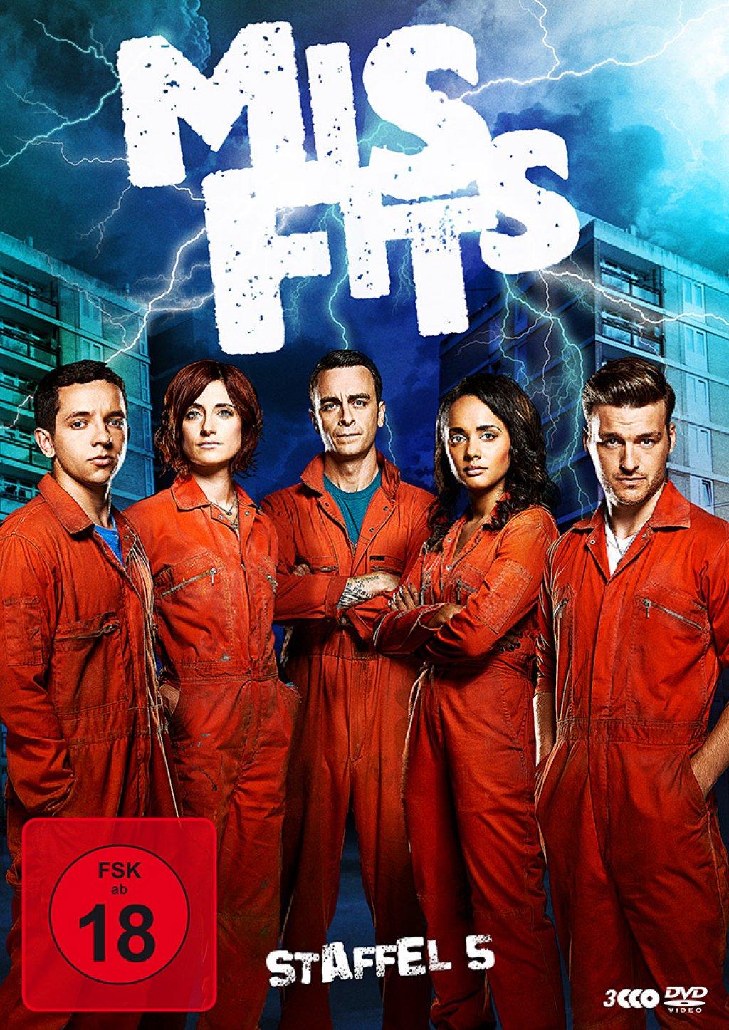Misfits - Staffel 05 (DVD)