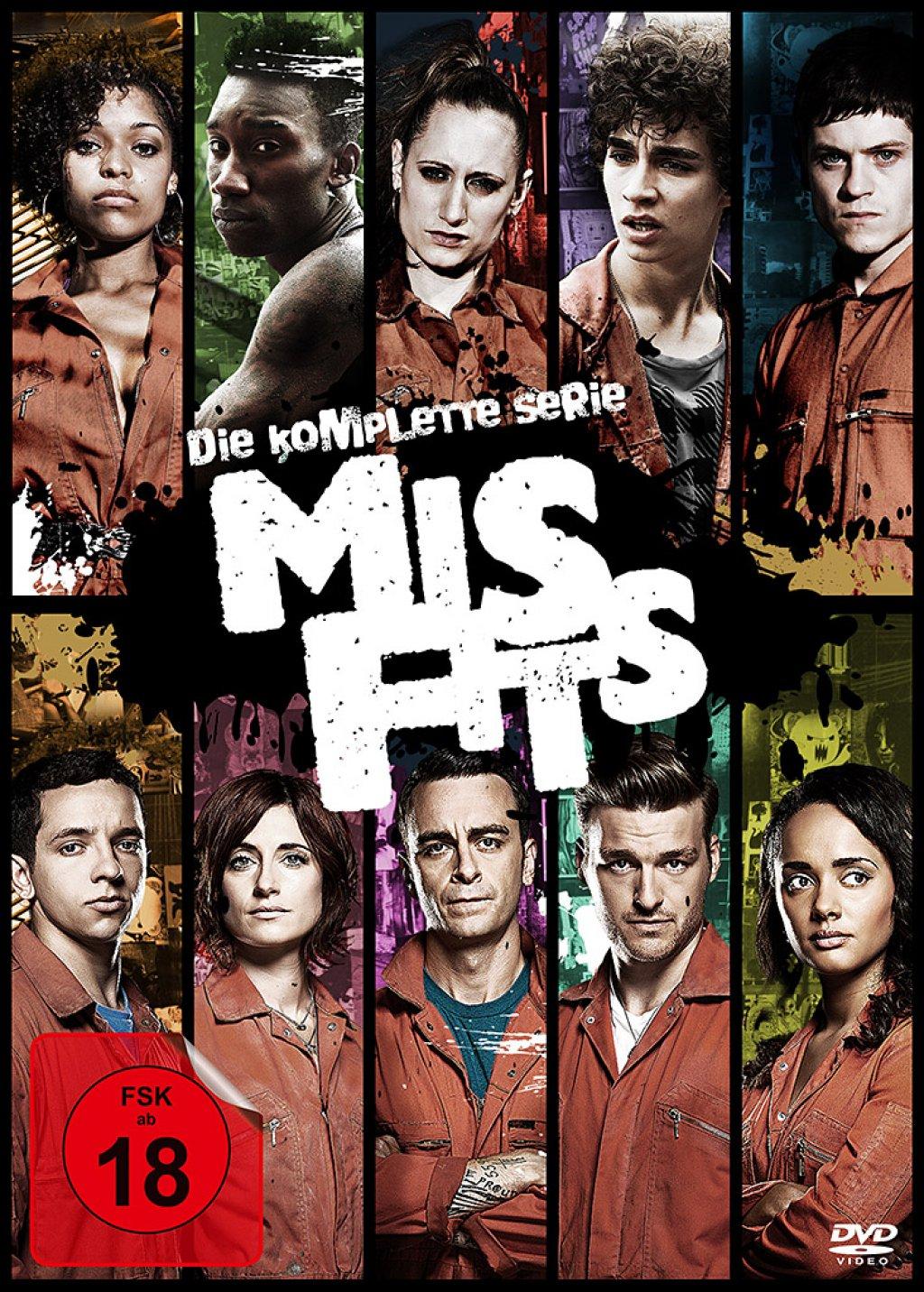 Misfits - Die komplette Serie (DVD)