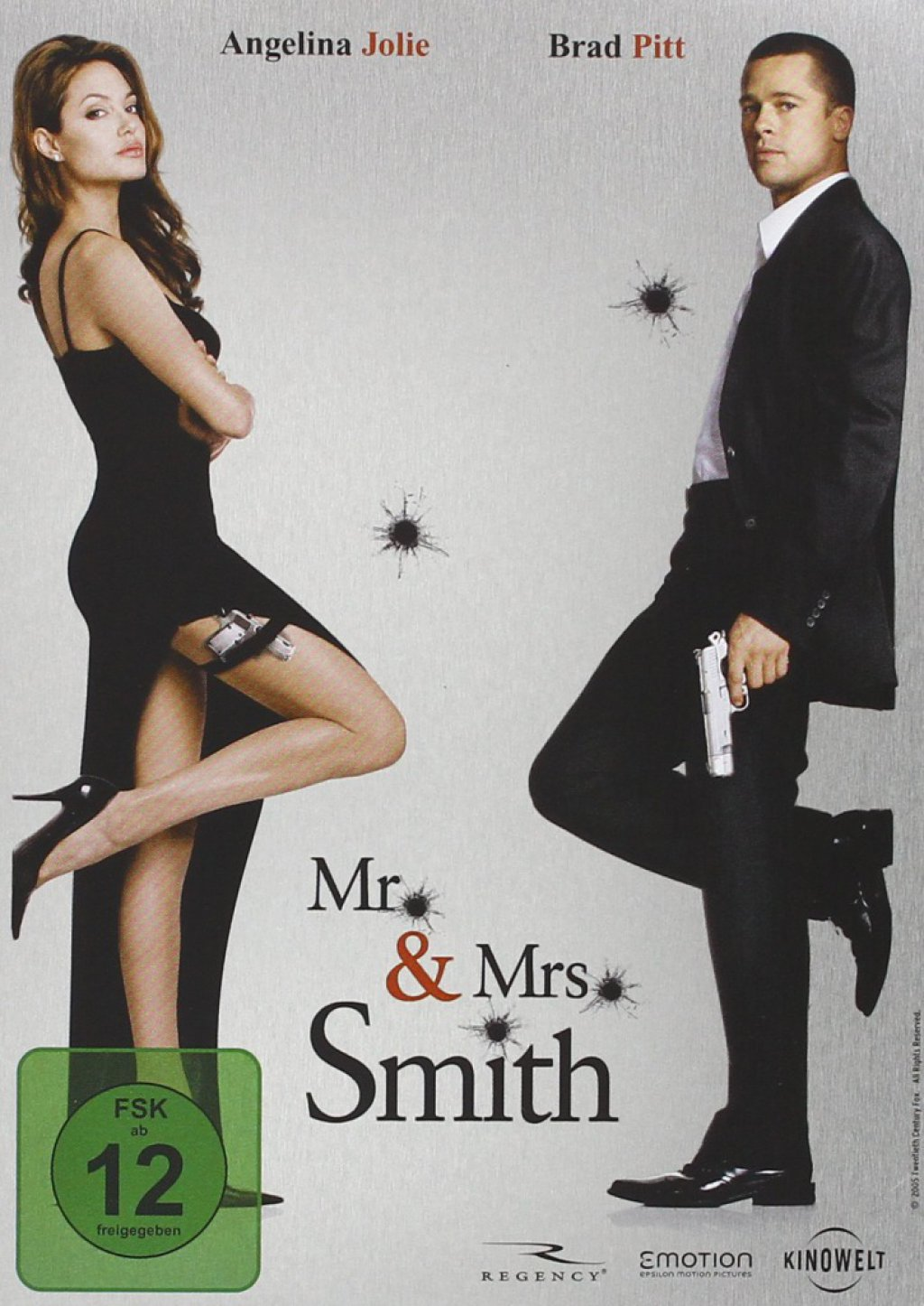 Mr. & Mrs. Smith - Steelbook (DVD)