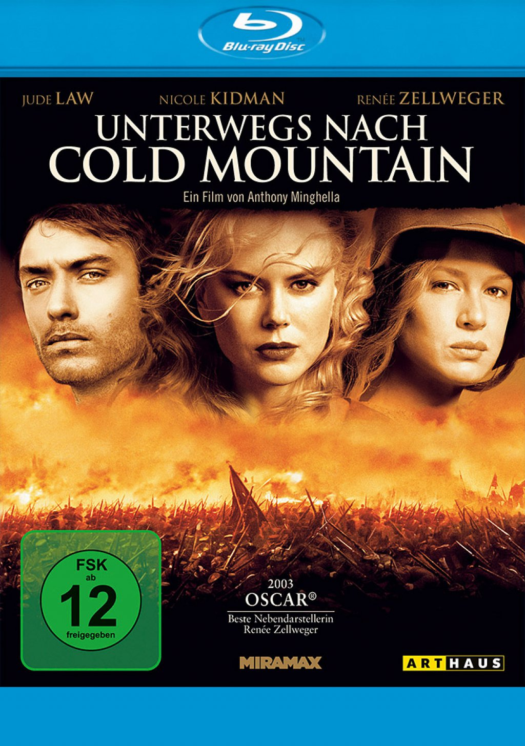 Unterwegs nach Cold Mountain (Blu-ray)