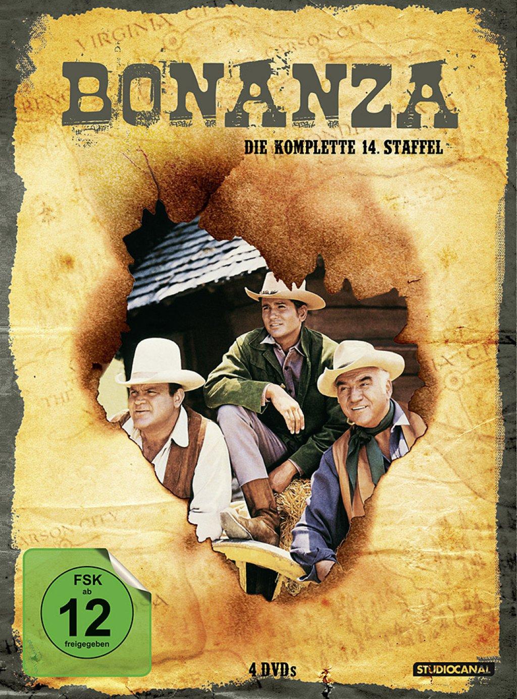 Bonanza - Staffel 14 (DVD)
