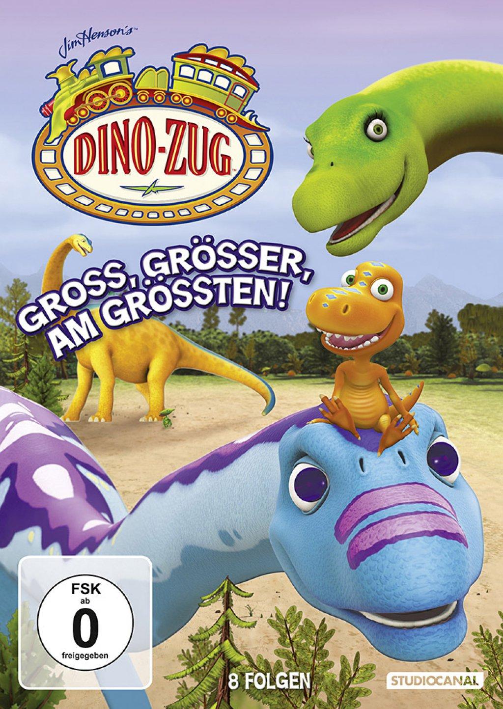 Dino-Zug - Gross, grösser, am grössten! (DVD)