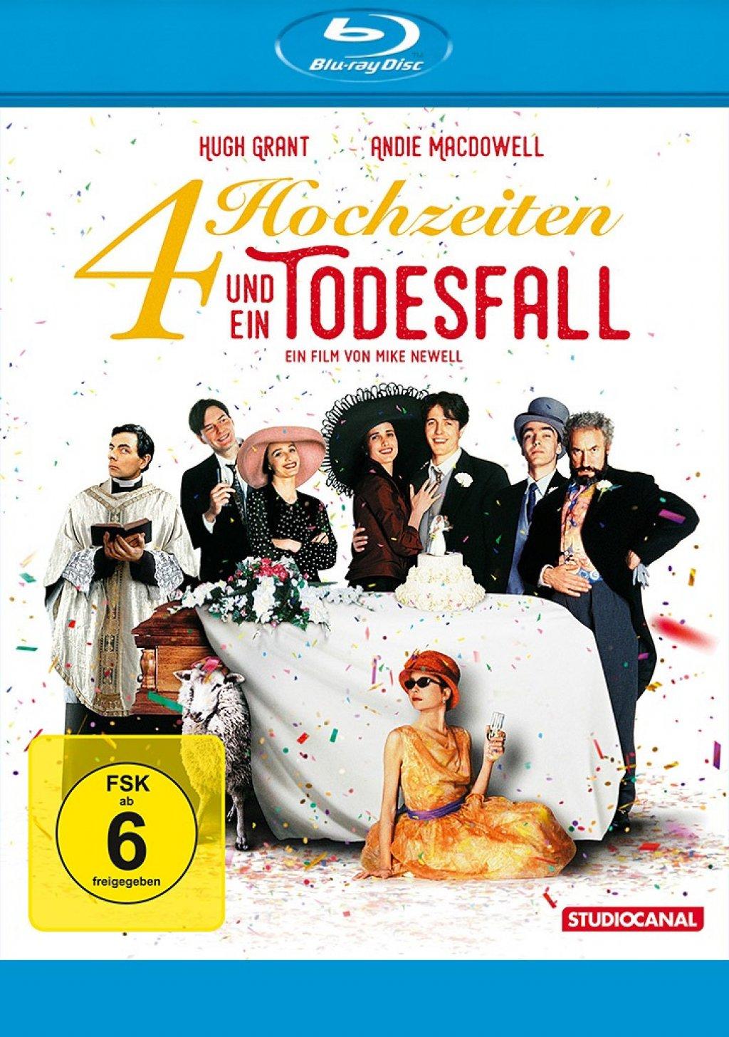 Vier Hochzeiten und ein Todesfall (Blu-ray)