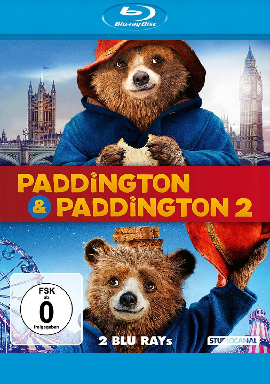 Paddington 1+2 (Blu-ray)