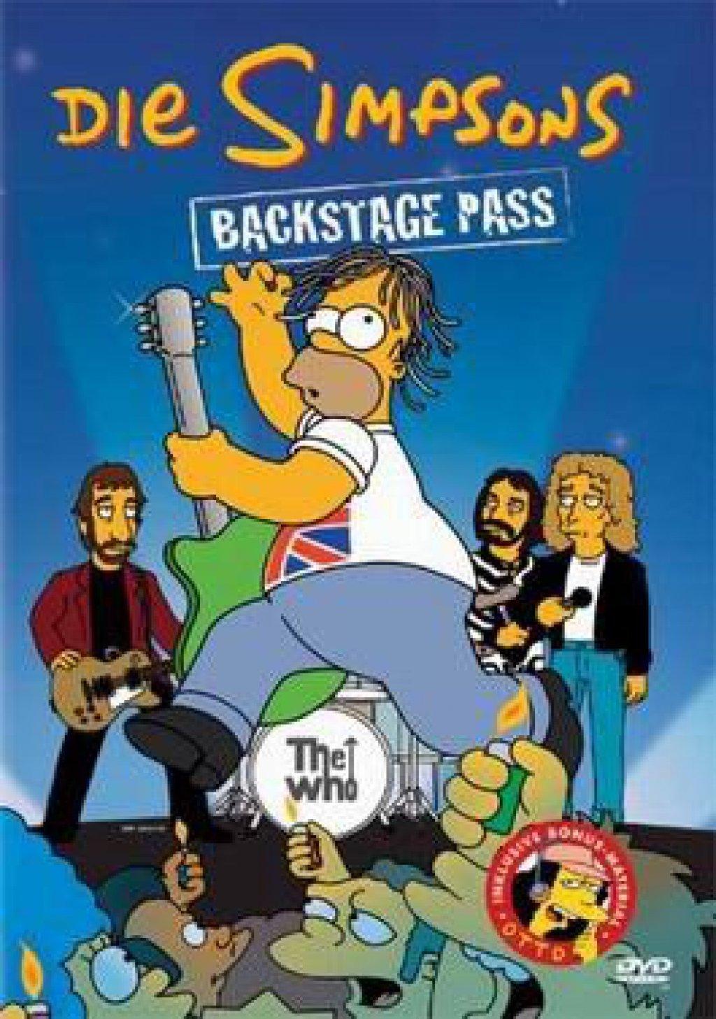 Die Simpsons - Backstage Pass (DVD)