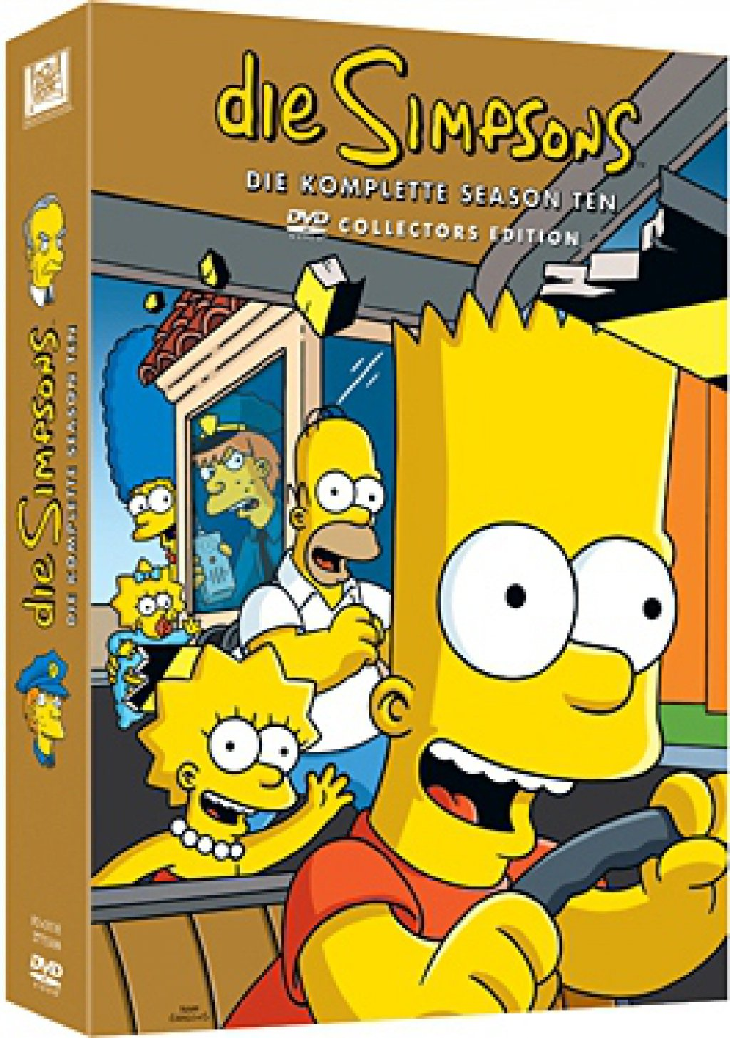 Die Simpsons - Season 10 / Collector`s Edition (DVD)