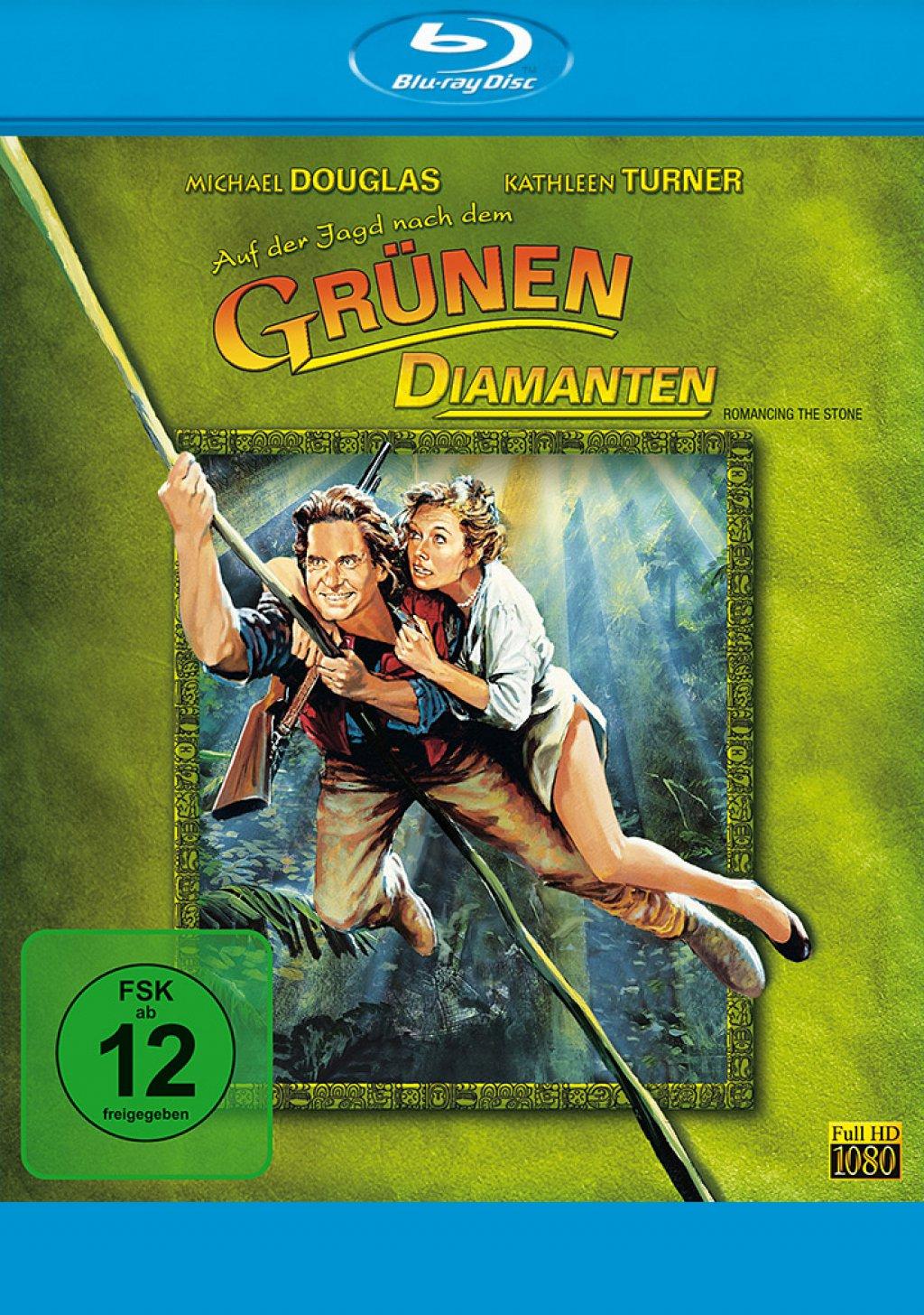 Auf der Jagd nach dem grünen Diamanten (Blu-ray)