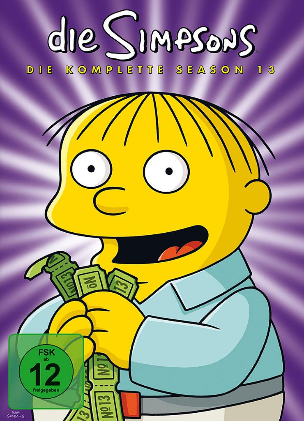 Die Simpsons - Season 13 (DVD)