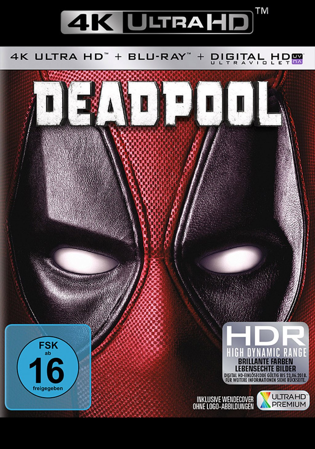 Deadpool - 4K Ultra HD Blu-ray + Blu-ray (Ultra HD Blu-ray)