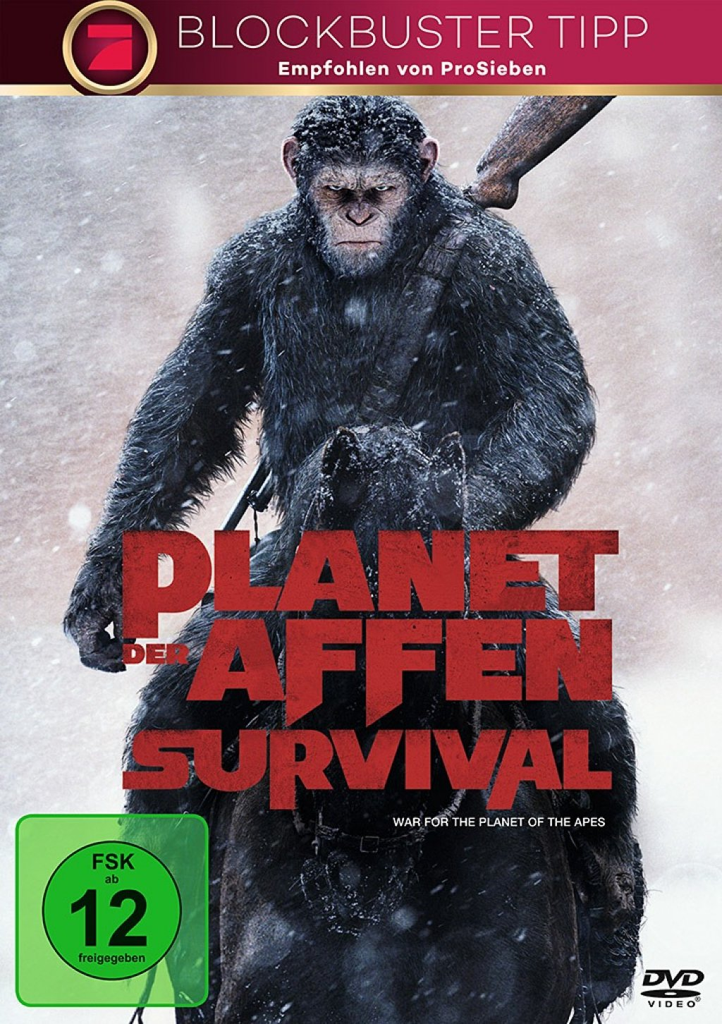 Planet der Affen - Survival (DVD)