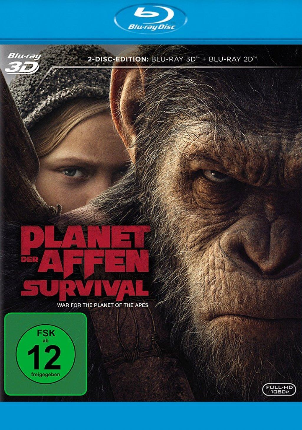 Planet der Affen - Survival - Blu-ray 3D + 2D (Blu-ray)