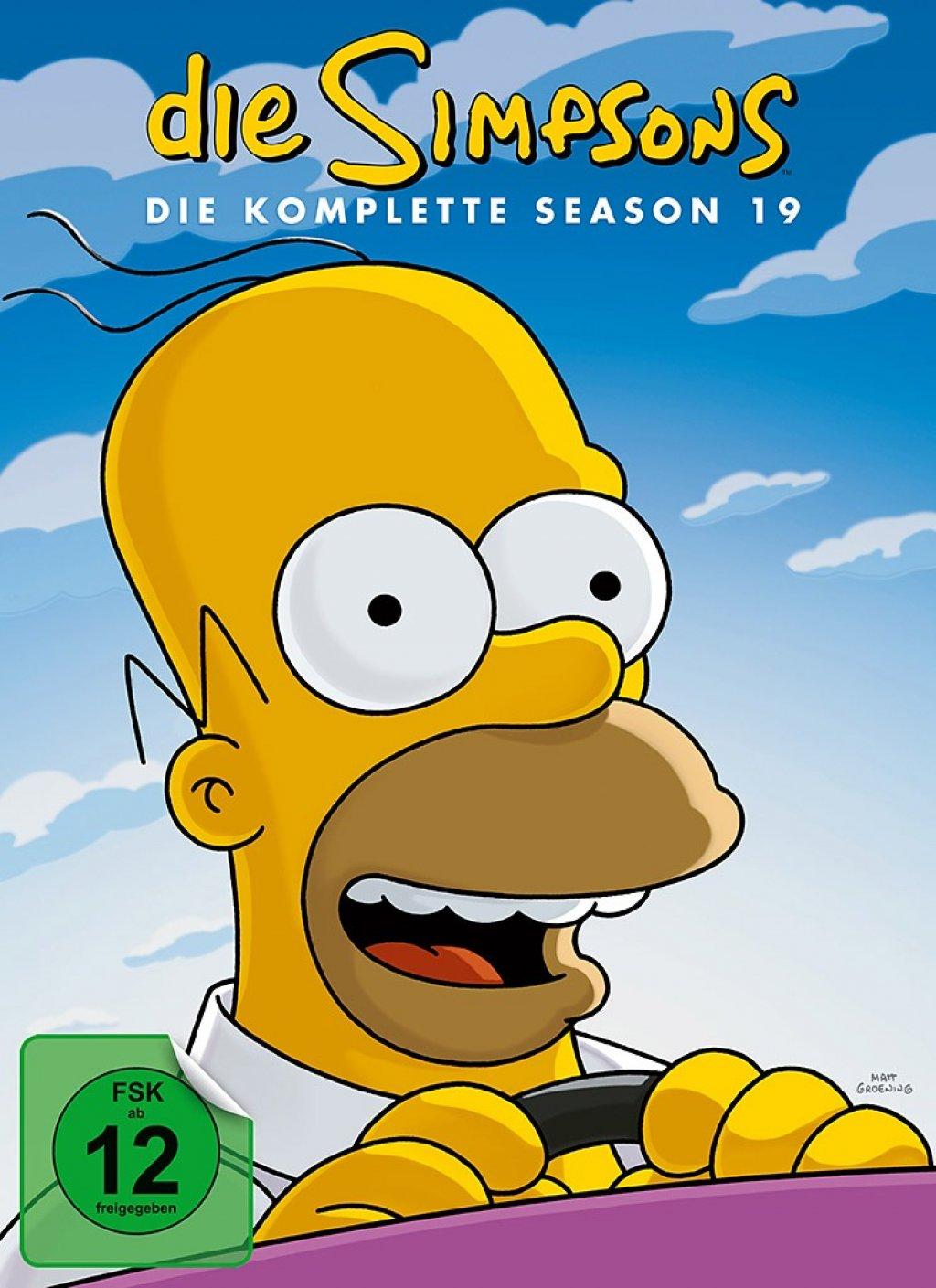 Die Simpsons - Season 19 (DVD)