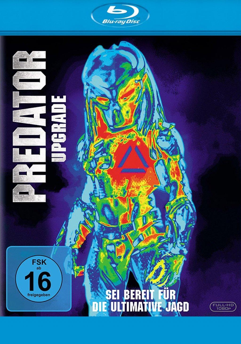 Predator - Upgrade (Blu-ray)