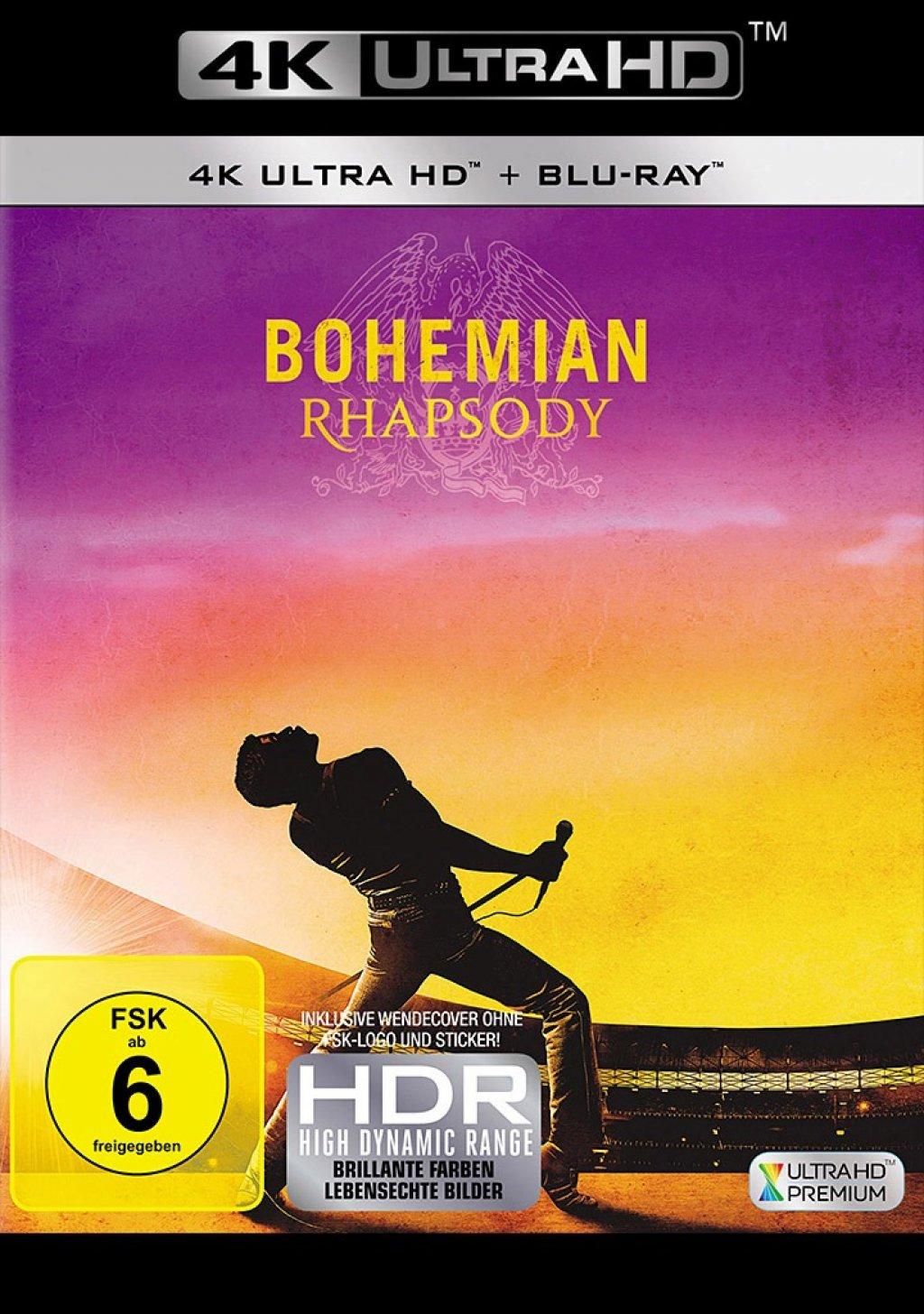 Bohemian Rhapsody - 4K Ultra HD Blu-ray + Blu-ray (4K Ultra HD)