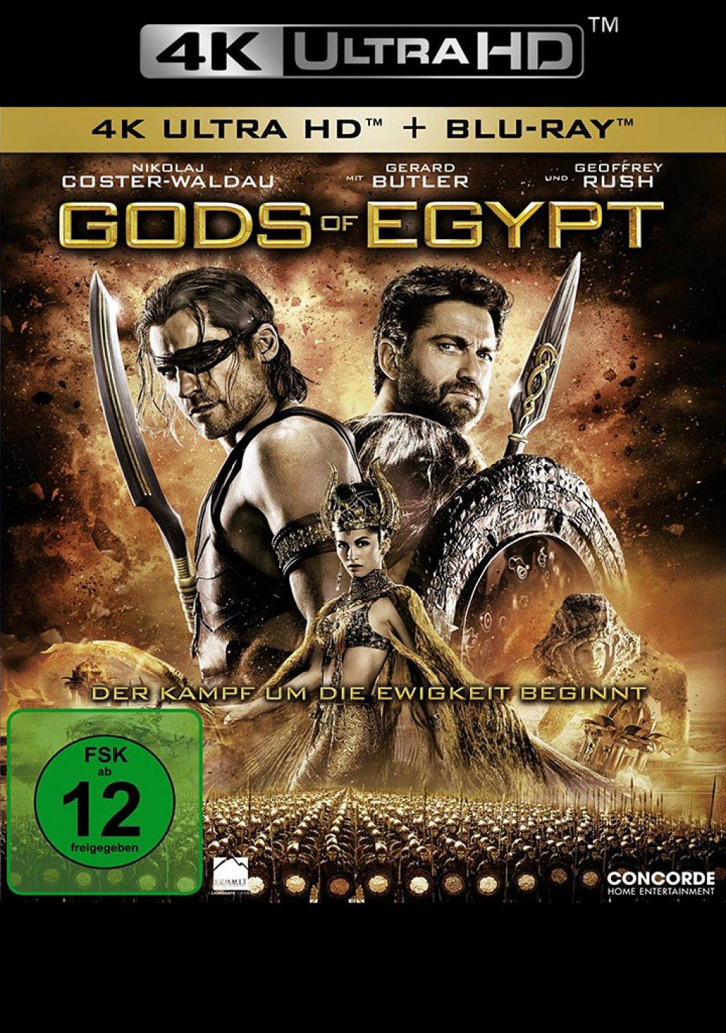 Gods of Egypt - 4K Ultra HD Blu-ray + Blu-ray (Ultra HD Blu-ray)