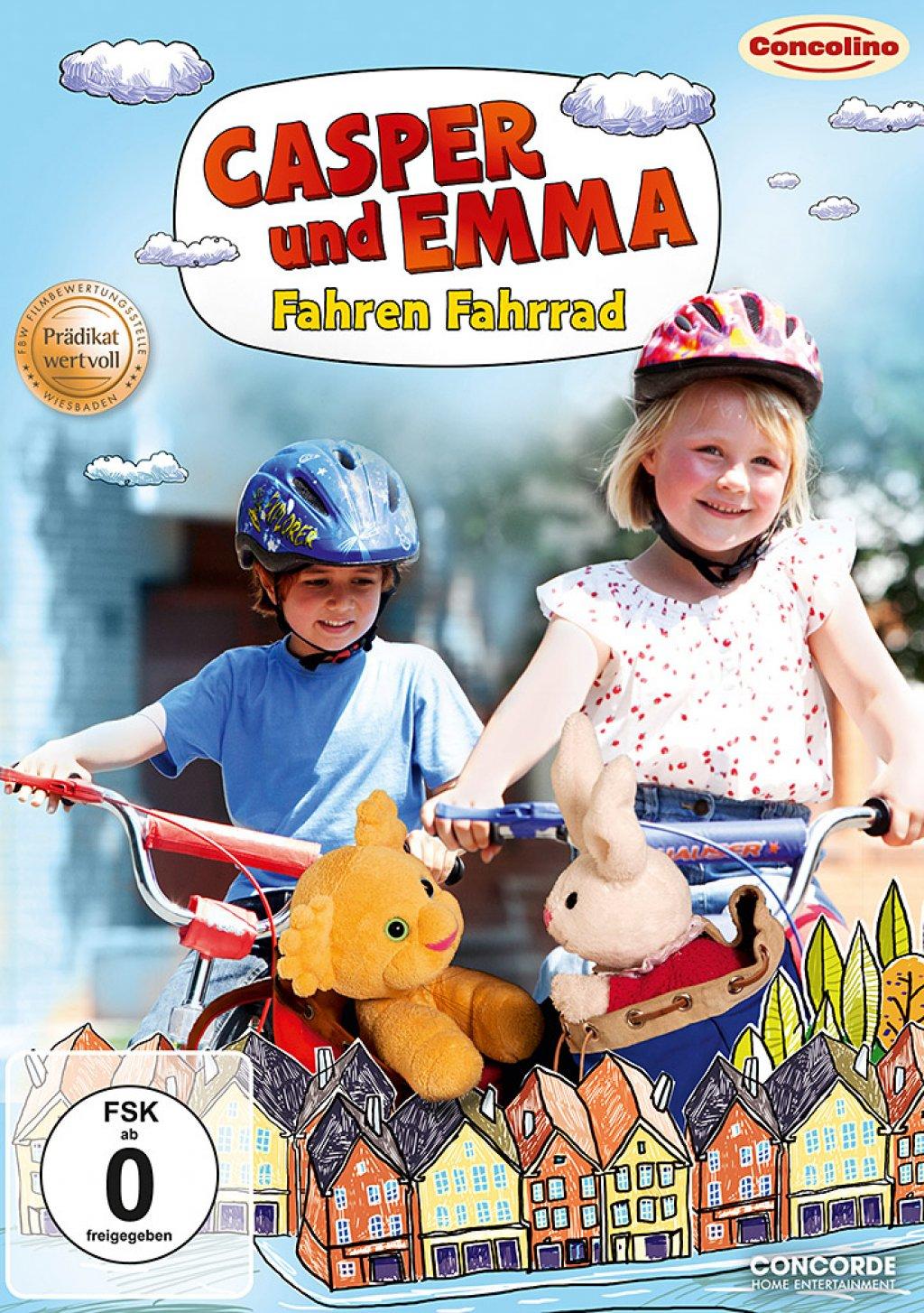 Casper und Emma - Fahren Fahrrad (DVD)