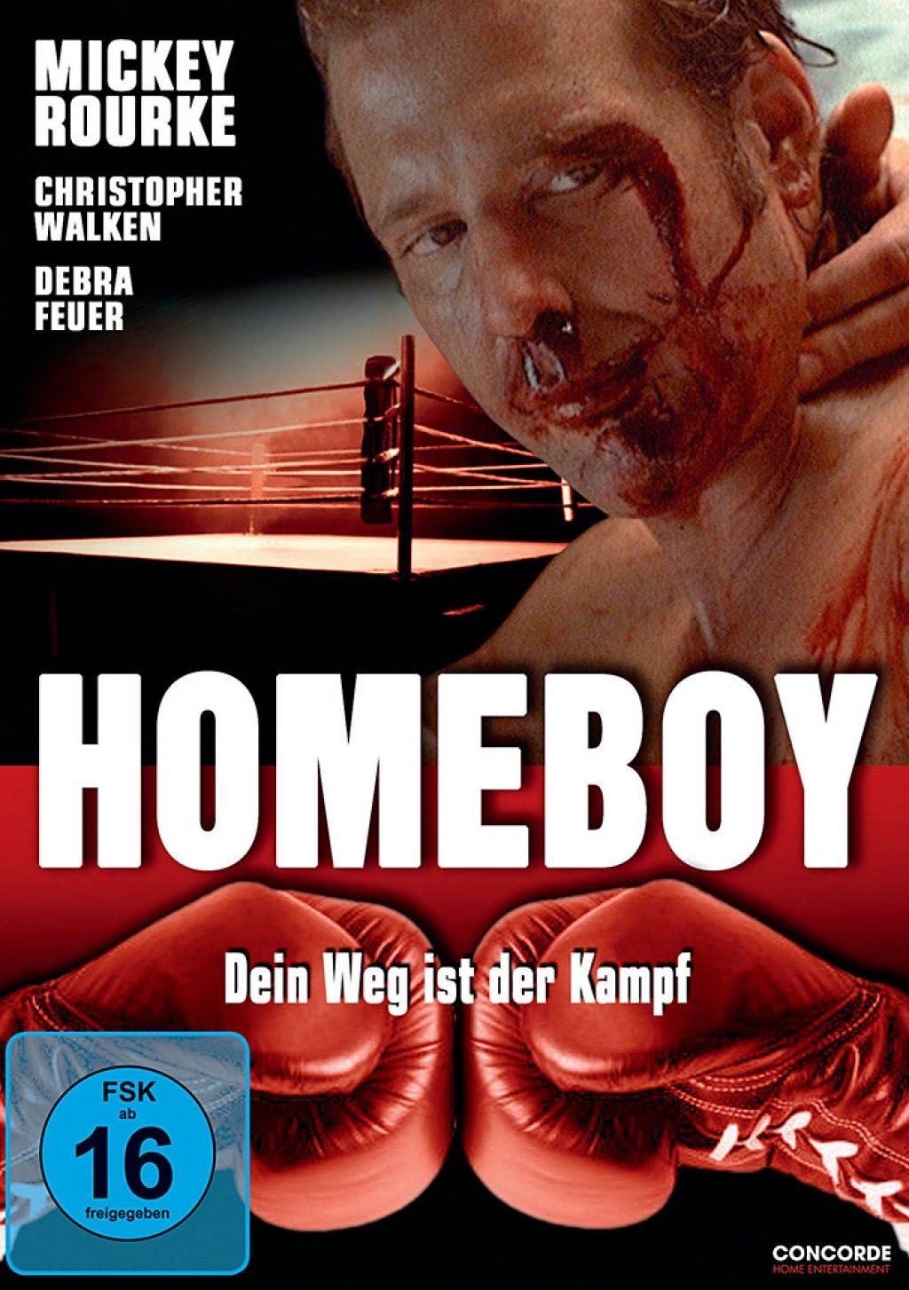 Homeboy - Dein Weg ist der Kampf! (DVD)