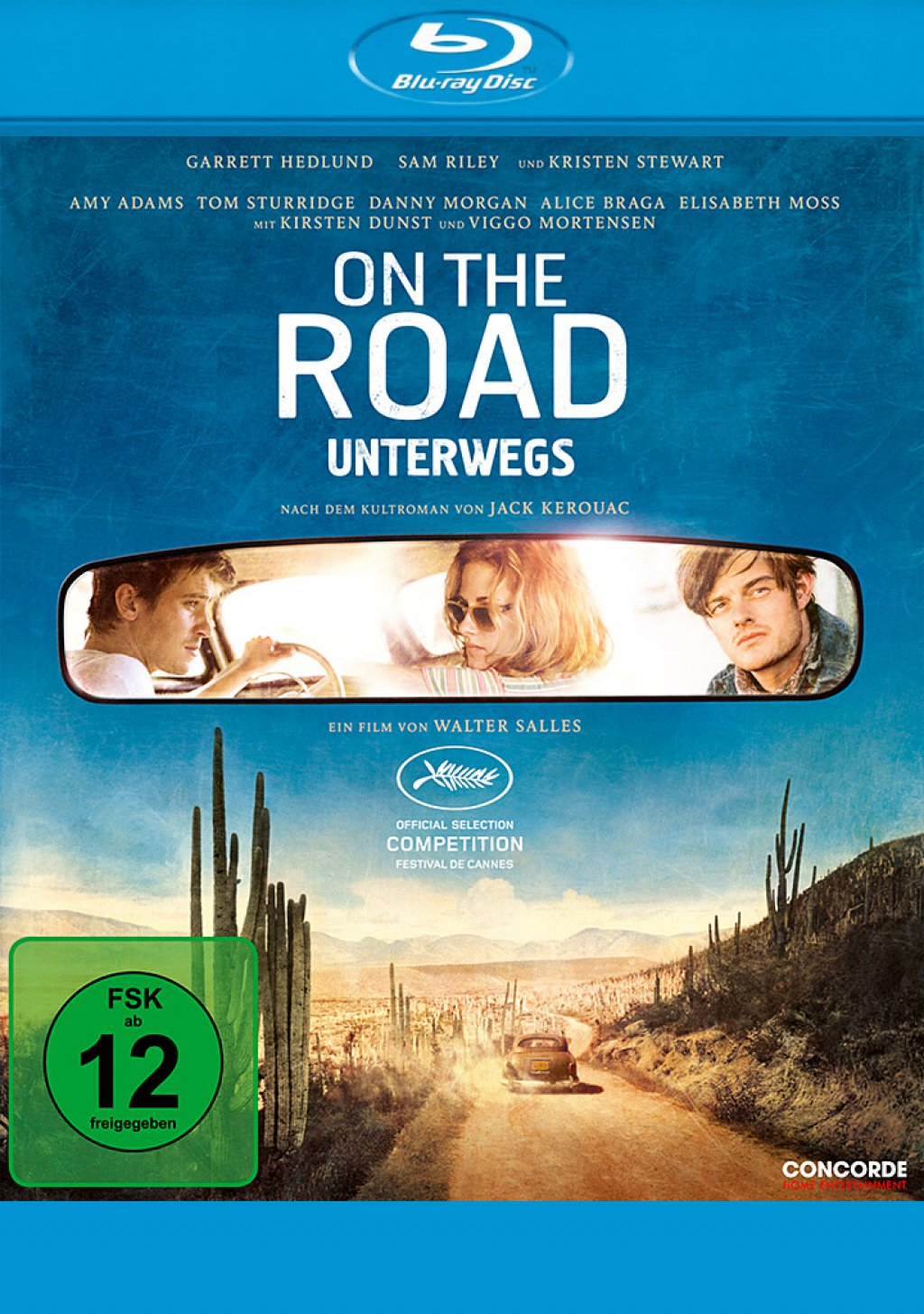 On the Road - Unterwegs (Blu-ray)