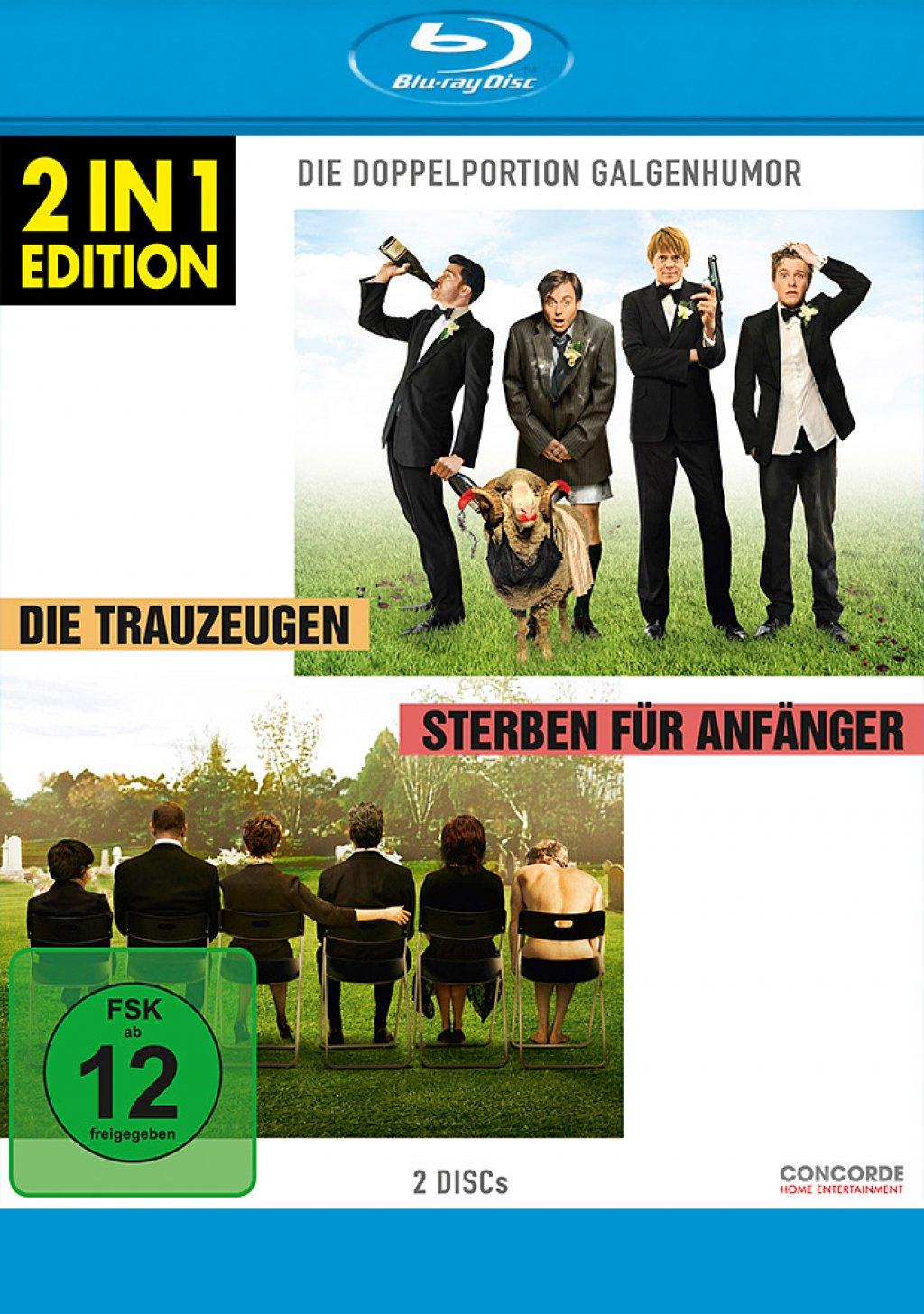 Die Trauzeugen & Sterben für Anfänger - 2 in 1 Edition (Blu-ray)