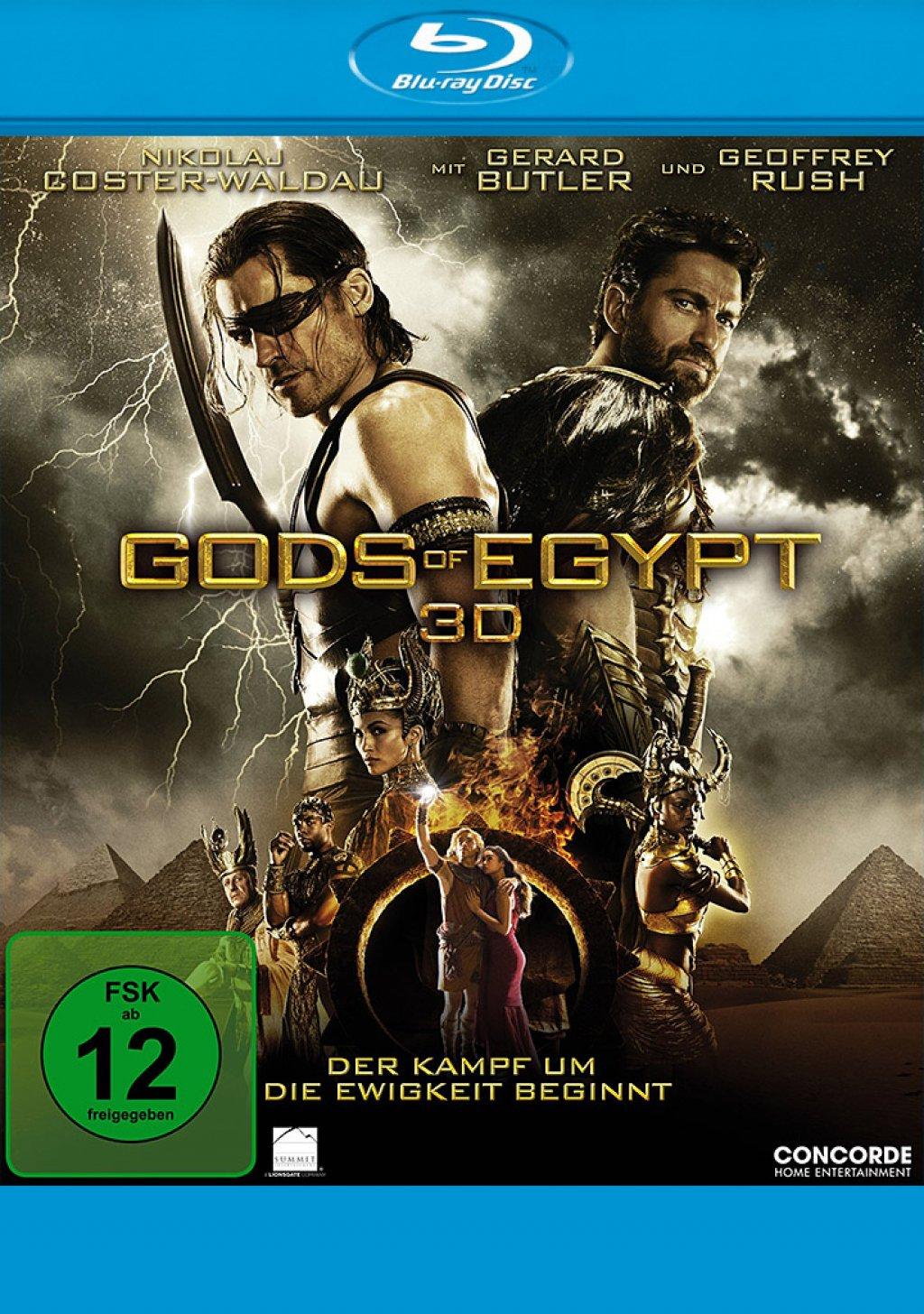 Gods of Egypt 3D - Blu-ray 3D (Blu-ray)