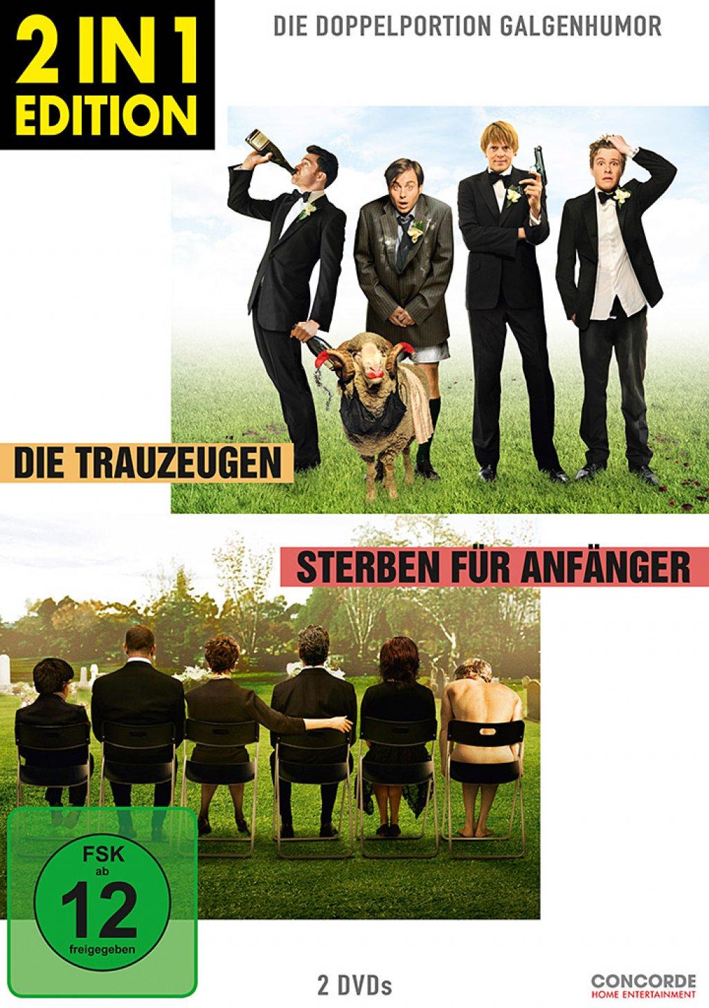 Die Trauzeugen & Sterben für Anfänger - 2 in 1 Edition (DVD)