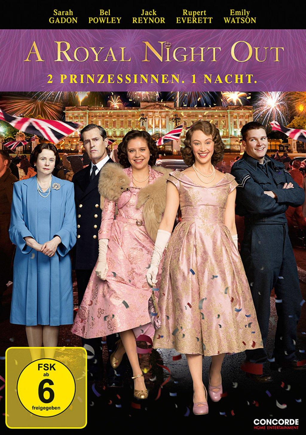 A Royal Night Out - 2 Prinzessinnen. 1 Nacht. (DVD)