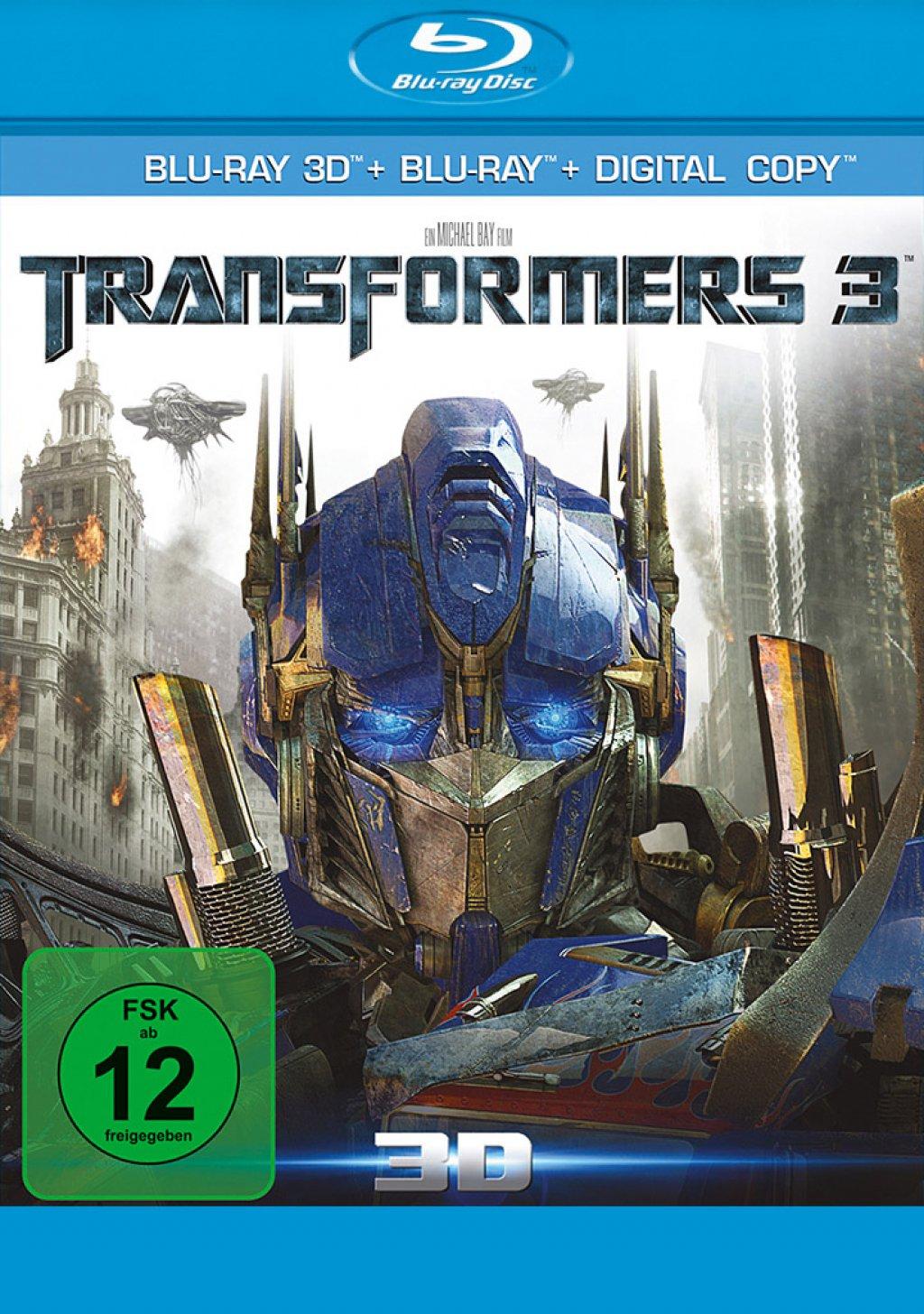 Transformers 3 3D - Blu-ray 3D + Blu-ray (Blu-ray)