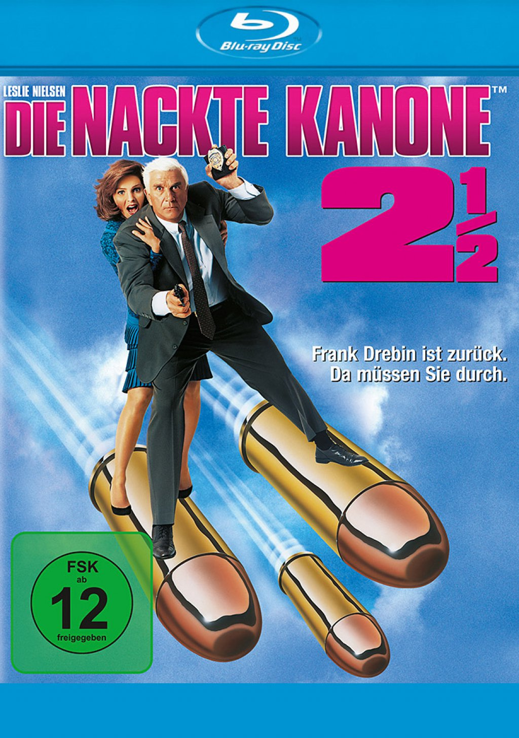 Die nackte Kanone 2½ (Blu-ray)
