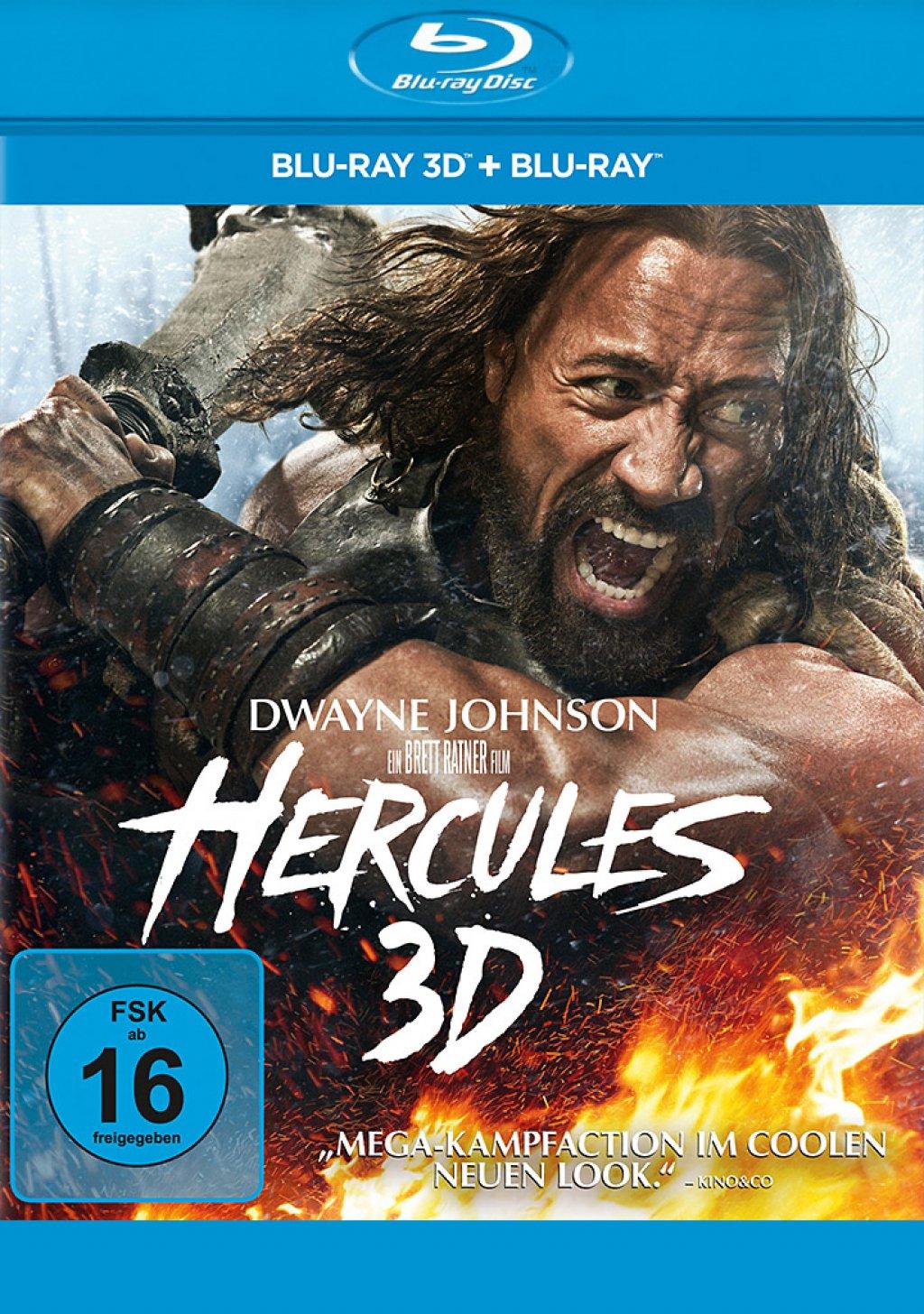 Hercules - Blu-ray 3D + 2D (Blu-ray)