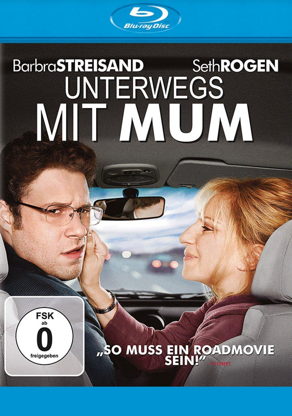Unterwegs mit Mum (Blu-ray)