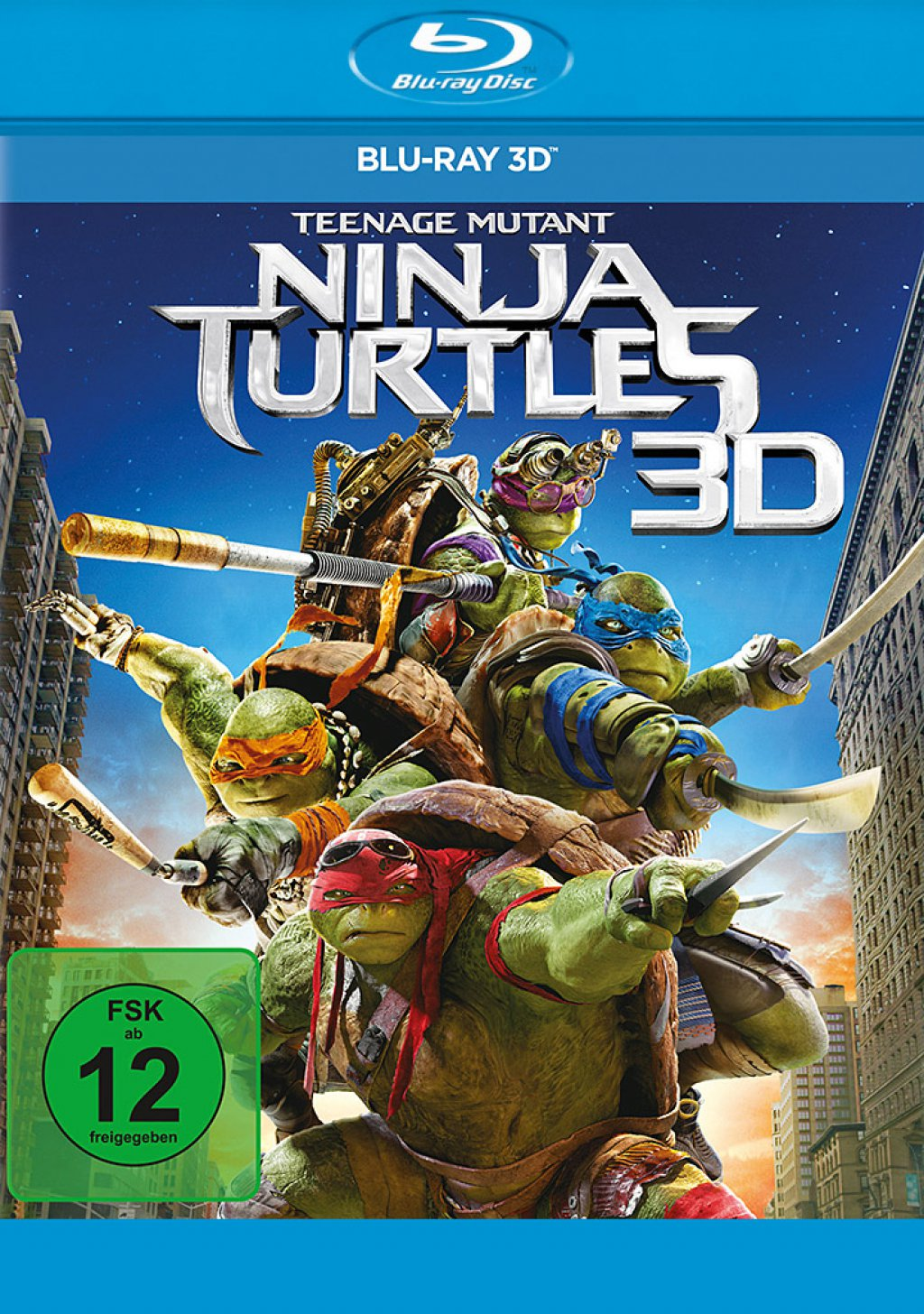 Teenage Mutant Ninja Turtles - Blu-ray 3D (Blu-ray)