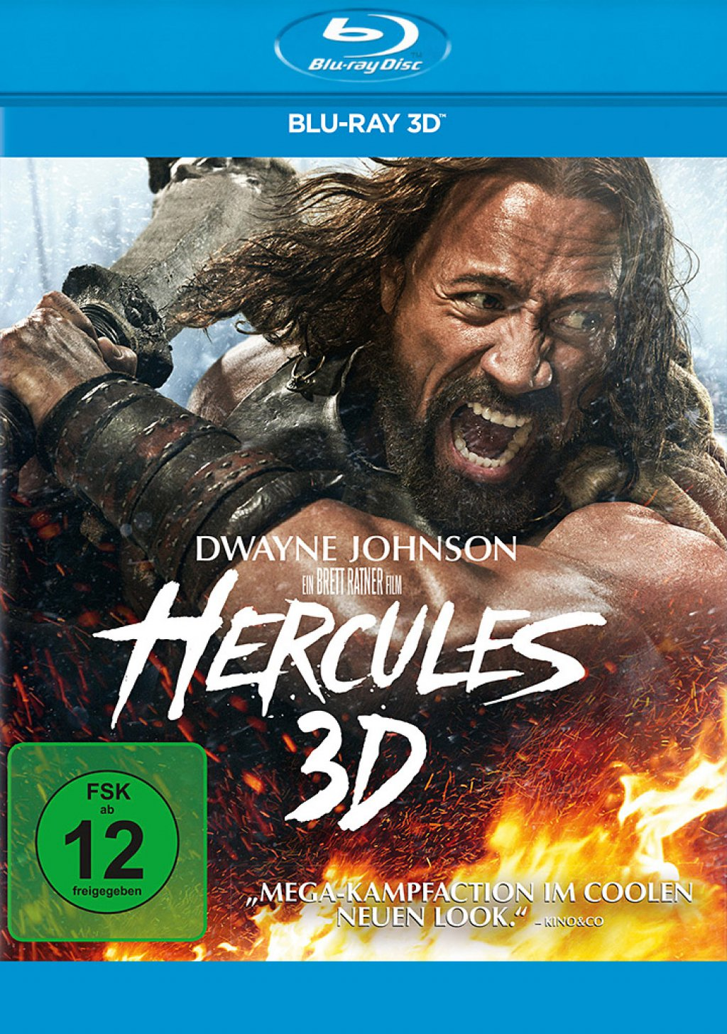 Hercules - Blu-ray 3D (Blu-ray)