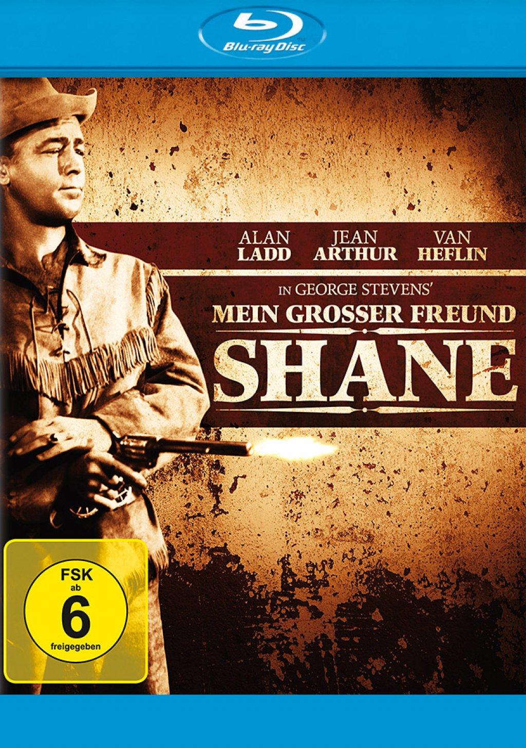 Mein grosser Freund Shane (Blu-ray)