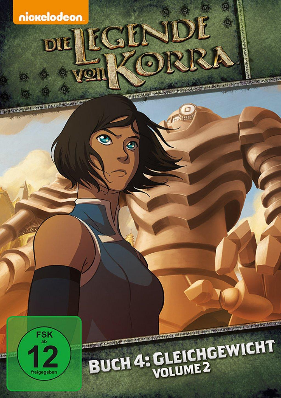 Die Legende von Korra - Buch Vier: Gleichgewicht / Vol. 02 (DVD)