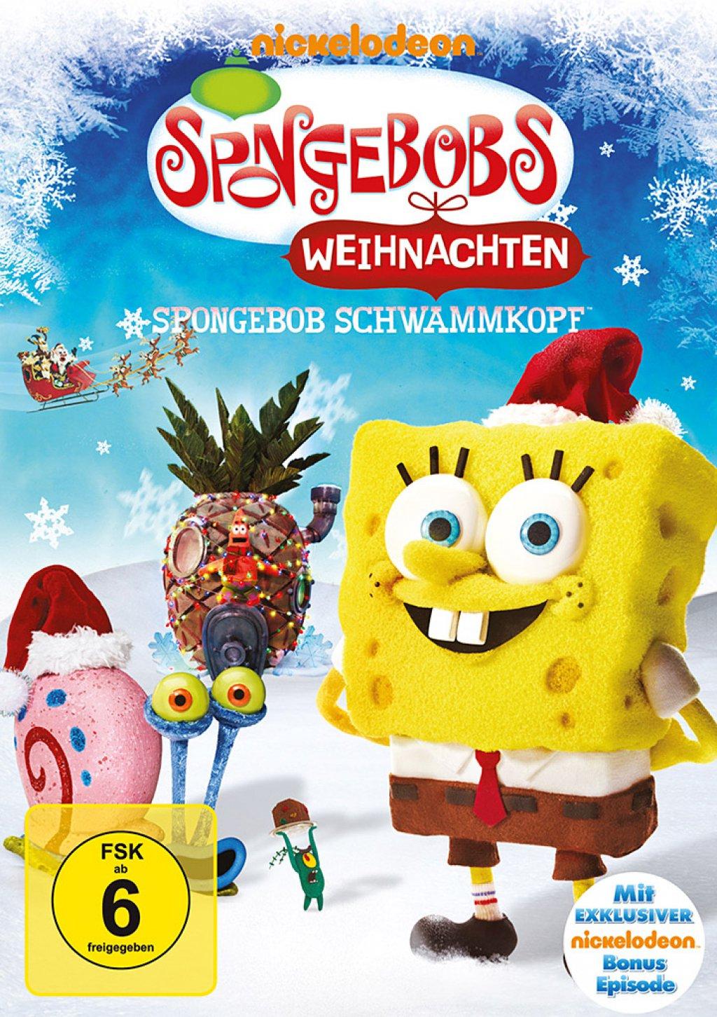 SpongeBob Schwammkopf - Spongebobs Weihnachten (DVD)