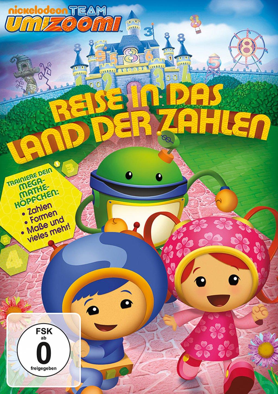 Team Umizoomi - Reise in das Land der Zahlen (DVD)