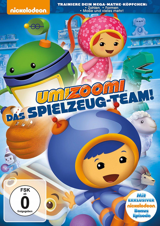 Team Umizoomi - Das Spielzeug Team (DVD)
