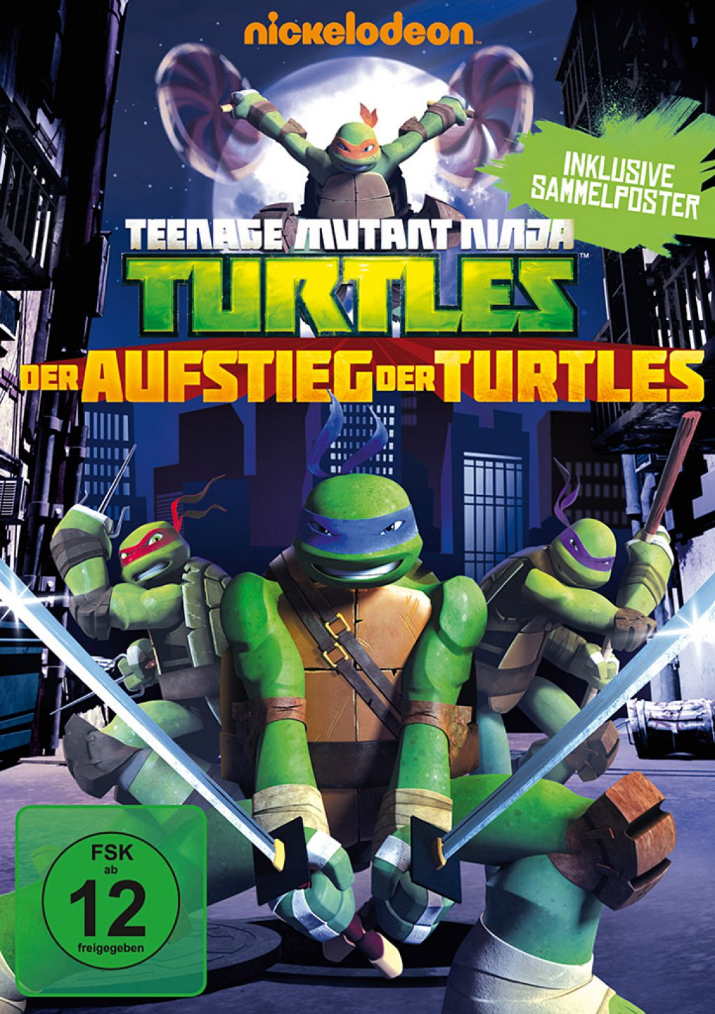 Teenage Mutant Ninja Turtles - Der Aufstieg der Turtles (DVD)